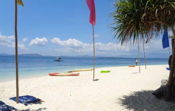 Luli island, Starfish island, Cowrie island