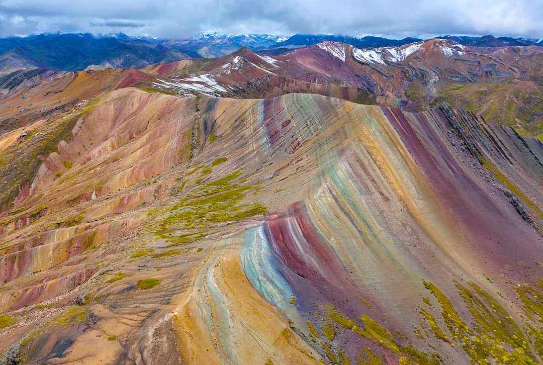 palccoyo new Rainbow Mountain