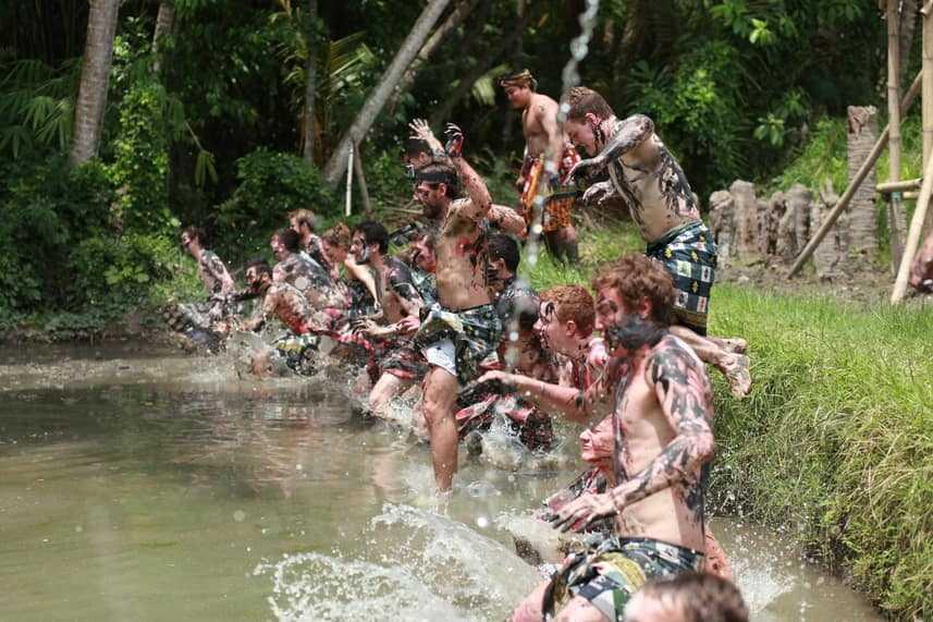 Mepantigan - Balinese Mud Wrestling