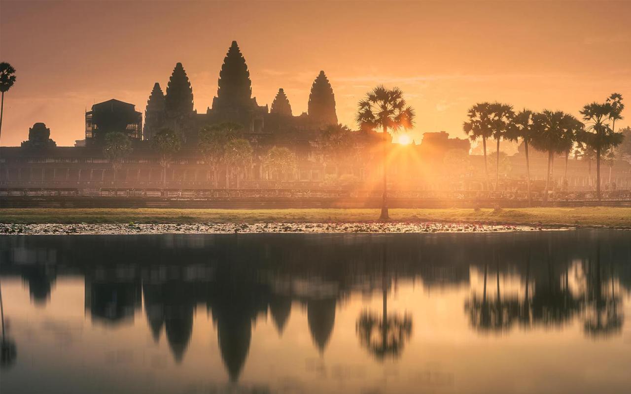 Angkor's Magnificent Sunrise