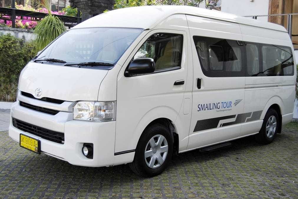 Full Day Charter with Tour Guide (Toyota HiAce 13-seaters) 2019