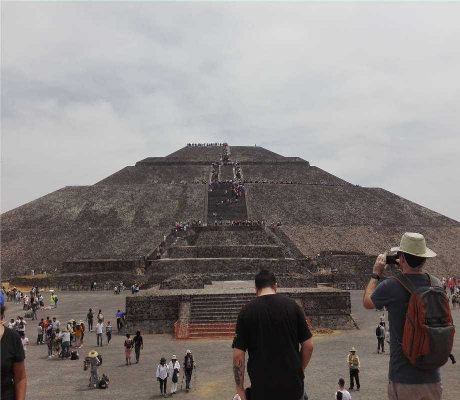 Guadalupe Shrine & Teotihuacan Pyramids from Mexico City