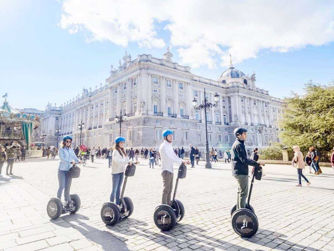 Madrid Segway Tour w/ Almudena Cathedral and Crypt