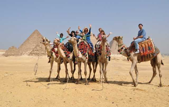 1-Day Camel Ride Around the Pyramids
