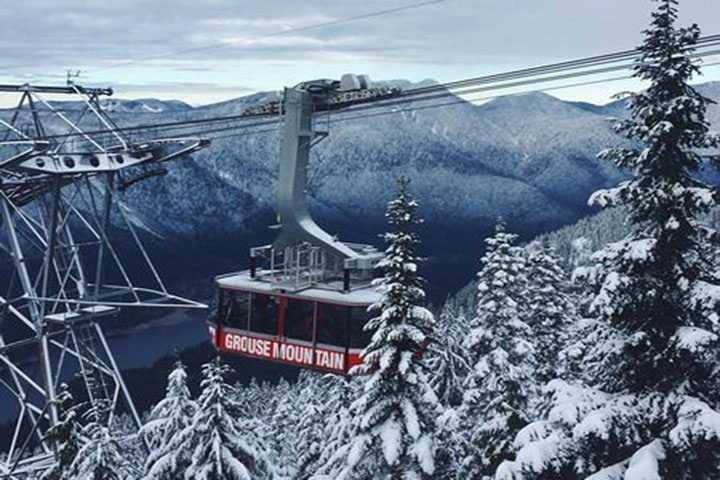 1-Day Vancouver Winter Tour: North Shore Mountains Grouse, Mount Seymour (Private) 2 Guest +