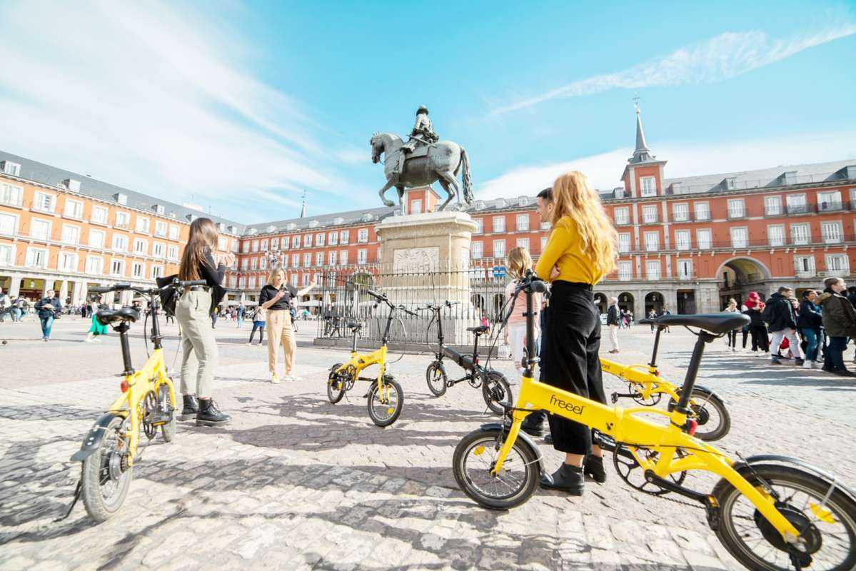 Full Day Madrid e-Bike and Walking Tour w/ Tapas Tastings