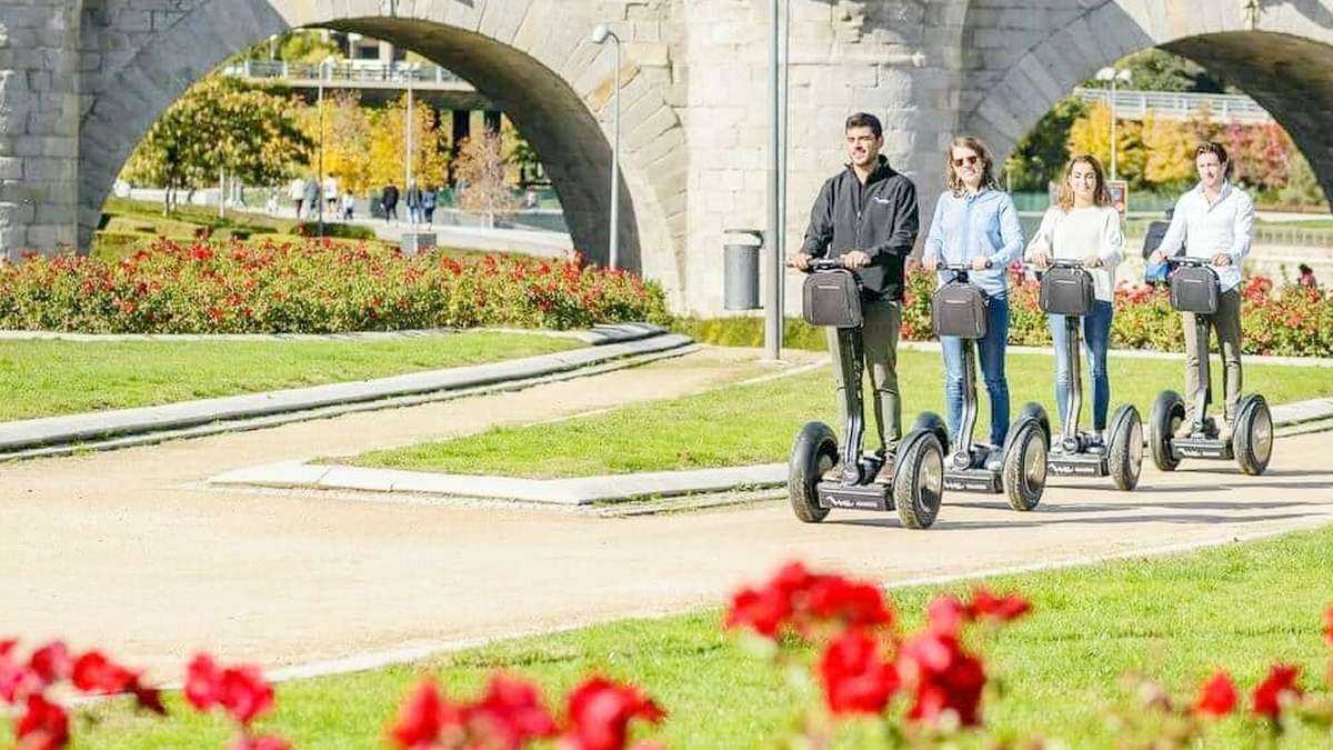2.5-Hour Madrid Segway Tour w/ Cathedral and El Retiro Park